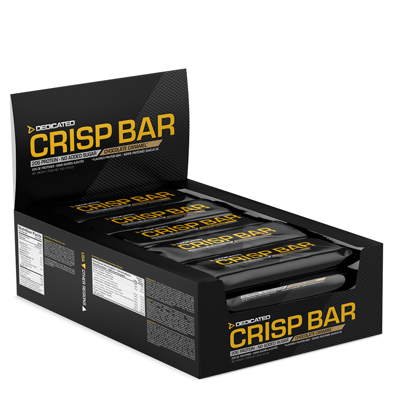 DEDICATED – CRISP BAR – WHITE CHOCOLATE PEANUT CARAMEL